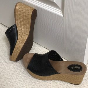 Wedge slide Sandal